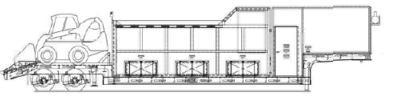 Схема снегоплавильной установки SND1800